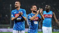 Tertinggal Sembilan Poin, Tekad Napoli Salip Juventus Masih Menyala