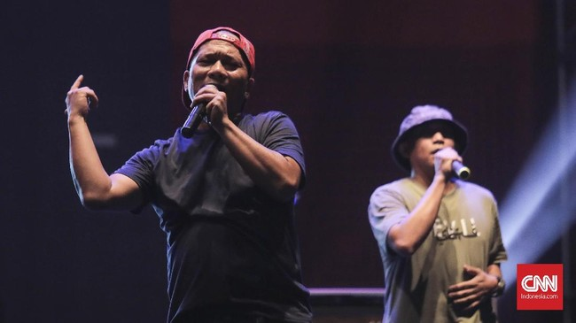 The 90's Festival sukses digelar di Gambir Expo, Kemayoran, Jakarta, pada Sabtu (10/11).