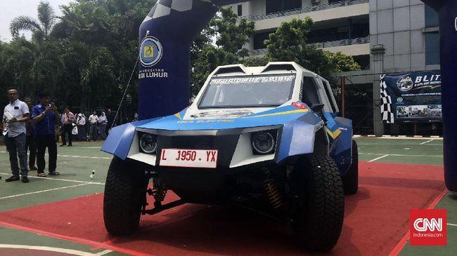 Mobil listrik Blits kreasi anak bangsa sudah mulai diuji. Tahap awal telah menempuh jarak sejauh 1.000 km.