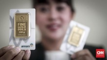 Antam Divonis Ganti Rugi Rp817,46 M atau Beri 1,13 Ton Emas