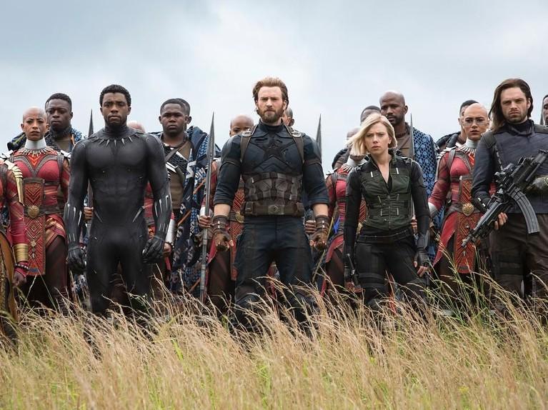 Avengers: Infinity War. Film garapan Russo bersaudara ini juga menjadi target pencarian para pengguna internet. Kini Marvel tengah mempromosikan Avengers keempat yang akan tayang 26 April 2019.