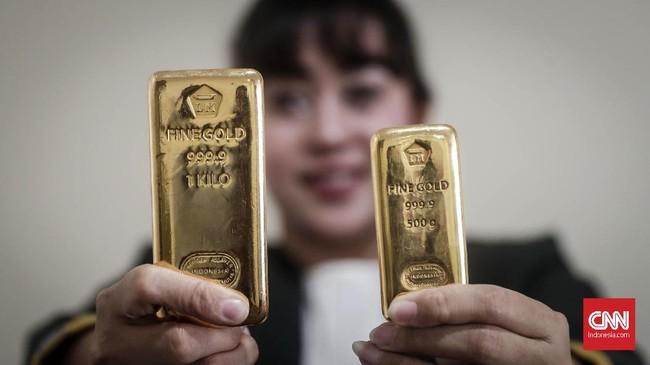 Ramalan Antam soal Harga Emas Sampai Akhir Tahun