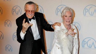 Kisah Cinta Legendaris 69 Tahun Stan Lee-Joan Lee