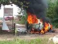 Keterangan Polisi soal Fortuner Hangus Terbakar di Sumsel