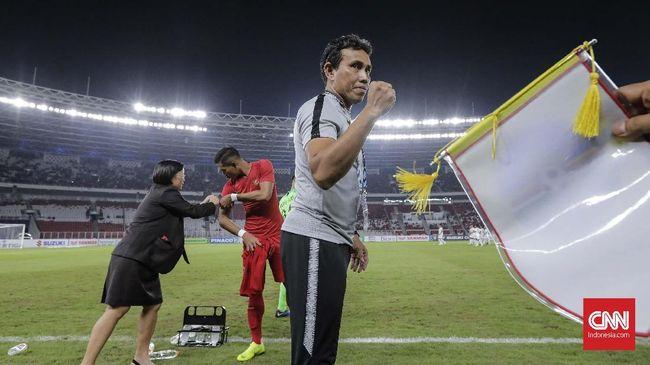 Mantan pemain Timnas Indonesia, Aji Santoso, menilai Bima Sakti mengemban tanggung jawab besar sebagai pelatih tim Merah Putih di Piala AFF 2018.