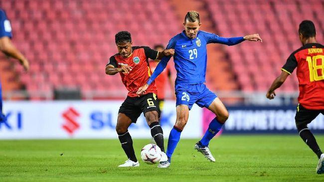 Dua pemain senior Timnas Indonesia, Rizky Rizaldi Pora dan Andik Vermansah, berbicara perbedaan kekuatan Thailand jelang pertemuan kedua tim, Sabtu (17/11).
