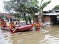 Curah Hujan Tinggi, Puluhan Rumah di Bangka Terendam Banjir