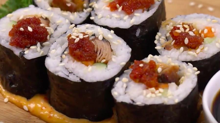 Resep Sushi Tongkol, Gampang Dibuat Bahannya Mudah Didapat
