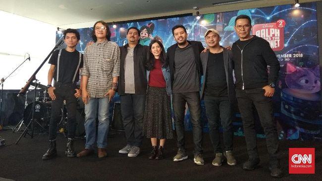 Payung Teduh menganggap vokal sang manajer bisa mewakili karakter sahabat Ralph, Vanellope von Sweetzch dari film 'Wreck It Ralph 2'.
