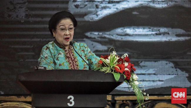 Ketua Dewan Pengarah BPIP Megawati Soekarnoputri menyayangkan Jakarta yang tak masuk dalam kategori city of intellectual.