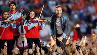 Tayang Sehari Saja, Coldplay 'head Full Of Dreams' Raup Rp 51 M