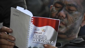 WNI Jadi Pasukan Cadangan TNI Akan Dapat Pangkat