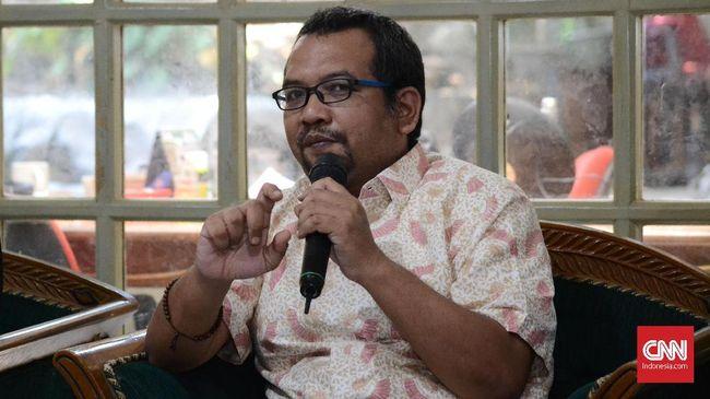 Direktur Eksekutif IJCR Anggara menilai UU Pemberantasan Tindak Pidana Terorisme, UU ITE dan KUHP tidak bisa digunakan menjerat pihak yang mengajak golput.