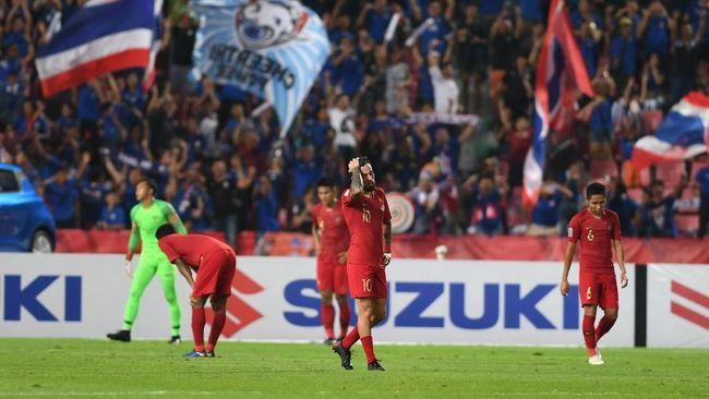 Penyerang Timnas Indonesia, Beto Goncalves, menilai dua gol Thailand di babak pertama membuyarkan konsentrasi dan mengacaukan rencana dan strategi tim.