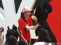 Kocak, Sandra Dewi Wajibkan Anak Gilai Disney Seperti Dirinya