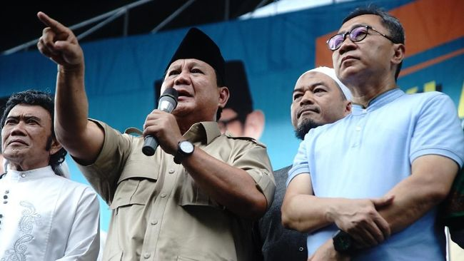 Prabowo meminta rakyat Indonesia tidak minder dengan orang Jakarta, namun justru wajib mempertanyakan sumber kekayaannya.