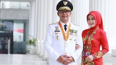 Janji Ridwan Kamil Sekolahkan Anak Korban Longsor Sukabumi