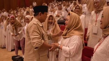 Manisnya Ucapan Ultah dari Prabowo Subianto untuk Titiek Soeharto
