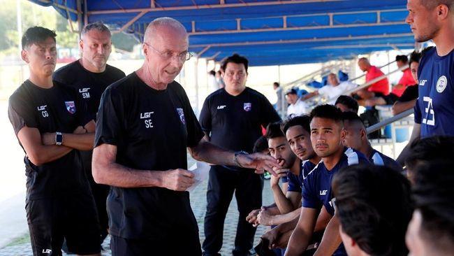 Pelatih timnas Filipina, Sven Goran Eriksson, galau jelang skuatnya menjamu Thailand pada laga Grup B Piala AFF 2018 di Stadion Panaad, Rabu (21/11).