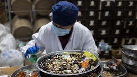 FOTO: Mimpi China Perluas Pasar Obat Tradisional