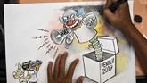 Di tengah persiapan Pemilu 2019, persoalan hoaks dan politik uang masih menjadi ancaman yang paling disorot oleh KPU, Bawaslu, maupun para peserta pemilu.
