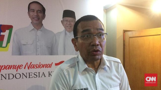 Buntut imbauan tak bayar pajak, TKN Jokowi-Ma'ruf meminta DPR tidak memberi gaji, THR  seluruh anggota DPR dari Fraksi Partai Gerindra dan stafnya.