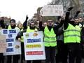 Kelompok Rompi Kuning Prancis Bakal Demo Lagi Akhir Pekan Ini