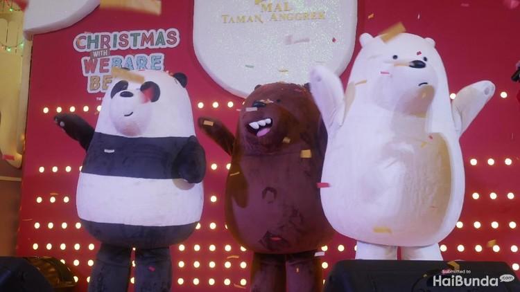 Siapa sih yang nggak gemas dengan tokoh beruang We Bare Bears? Yuk, Bun, ajak anak bertemu iga beruang bersaudara, Grizzly, Panda dan Ice Bear.