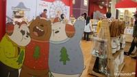 <p>Di sini juga jual merchandise resmi dari We Bare Bears lho, Bun.</p>