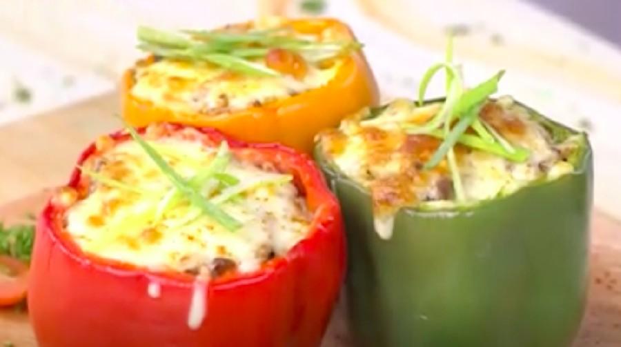 Resep Stuffed Paprika, Cara Unik Makan Paprika Isi Daging