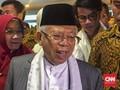 Ma'ruf: Perlu Pengendalian Agar Tak Terjadi 'Tsunami' Politik