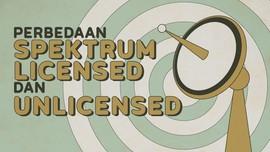 INFOGRAFIS: Mengenal Beda Spektrum Licensed dan Unlicensed