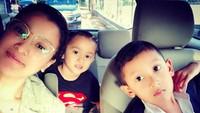 <p>Kompak selalu ya Kana, Magali, dan Bunda Marcella. (Foto: Instagram/ @marcella.zalianty)</p>