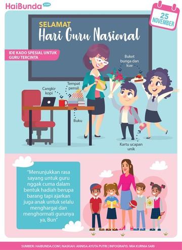 Ajak Anak Memperingati Hari Guru Nasional Yuk Bun