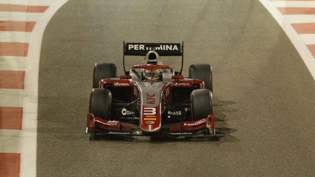 Tim yang dibela pebalap Indonesia Sean Gelael Pertamina Prema Theodore Racing finis di peringkat kelima klasemen akhir Formula 2 2018.