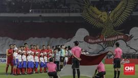 FOTO: Timnas Indonesia Gagal ke Semifinal Piala AFF 2018