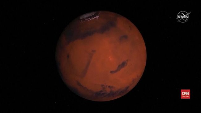 VIDEO: Pesawat Luar Angkasa NASA Mendarat di Mars