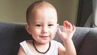 <p>Hai James! Anak dari Fandy Cristian dan Dahlia Poland ini kira-kira lebih mirip ibu atau ayahnya ya? (Foto: Instagram @fandych) </p>