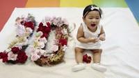 <p>Bayi lucu satu ini bernama Gayatri Idalia Yudhoyono, anak Edhie Baskoro Yudhoyono (Ibas) dan Siti Ruby Aliya Rajasa, yang tak lain cucu Presiden ke-6 RI Susilo Bambang Yudhoyono. (Foto: Instagram @ruby_26)</p>