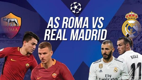 AS Roma Dibungkam Real Madrid