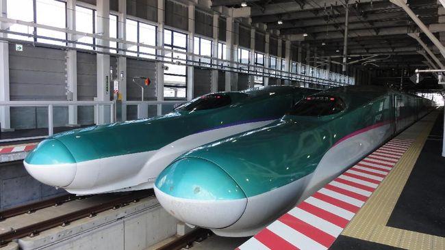 Kereta SHINKANSEN H5 AND E5