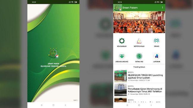 Aplikasi smart pakem telah diluncurkan namun beberapa fitur masih belum bisa berjalan dan aplikasi tidak stabil.