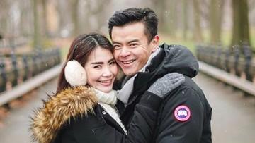 8 Momen Romantis Pasangan Muda Dion Wiyoko dan Fiona Anthony