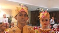 <p>Nah kalau ini, pakaian adat suku Dayak Ngaju di Kalimantan Tengah, yang disebut baju sangkarut. (Foto: Yuni Ayu Amida/ HaiBunda) </p>