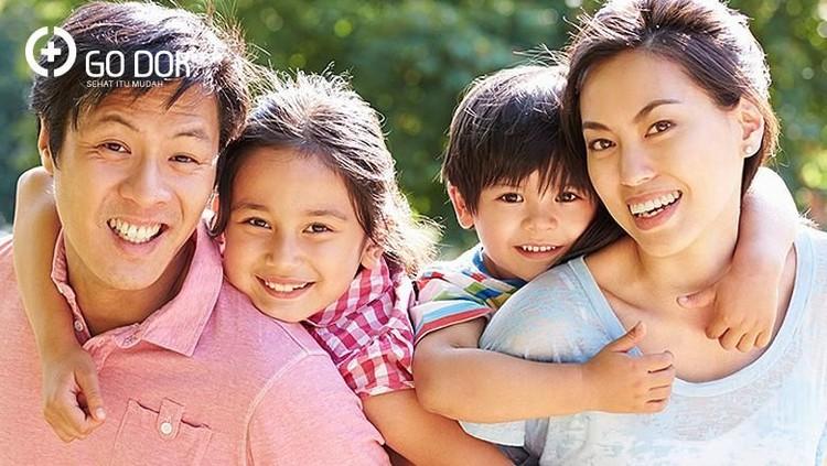 Ada penyakit yang ditentukan fakot genetik, Bun, contohnya enam penyakit ini.