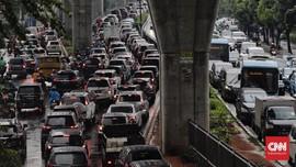 Mampang-Tendean Macet Parah, Polisi Tak Bisa Alihkan Lalin