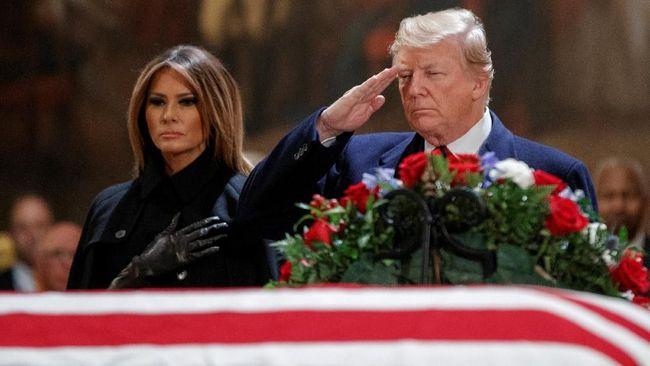 Trump Urung Tetapkan Status Darurat Nasional