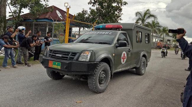 Meinus, bocah berusia enam tahun yang tertembak saat baku tembak aparat dengan KKB Papua, menurut polisi, dijadikan tameng hidup oleh KKB papua.
