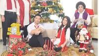 <p>Saat perayaan natal nih, Bun, meriah banget ya keluarga mereka. (Foto: Instagram @ tinatoon101)</p>