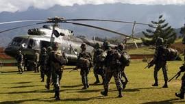 TPNPB Klaim Curi 11 Senjata dari Lokasi Jatuh Heli Mi-17